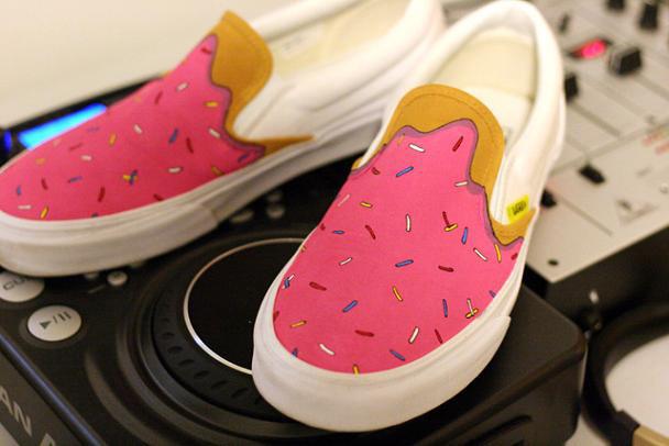 The Simpsons Vans Shoes