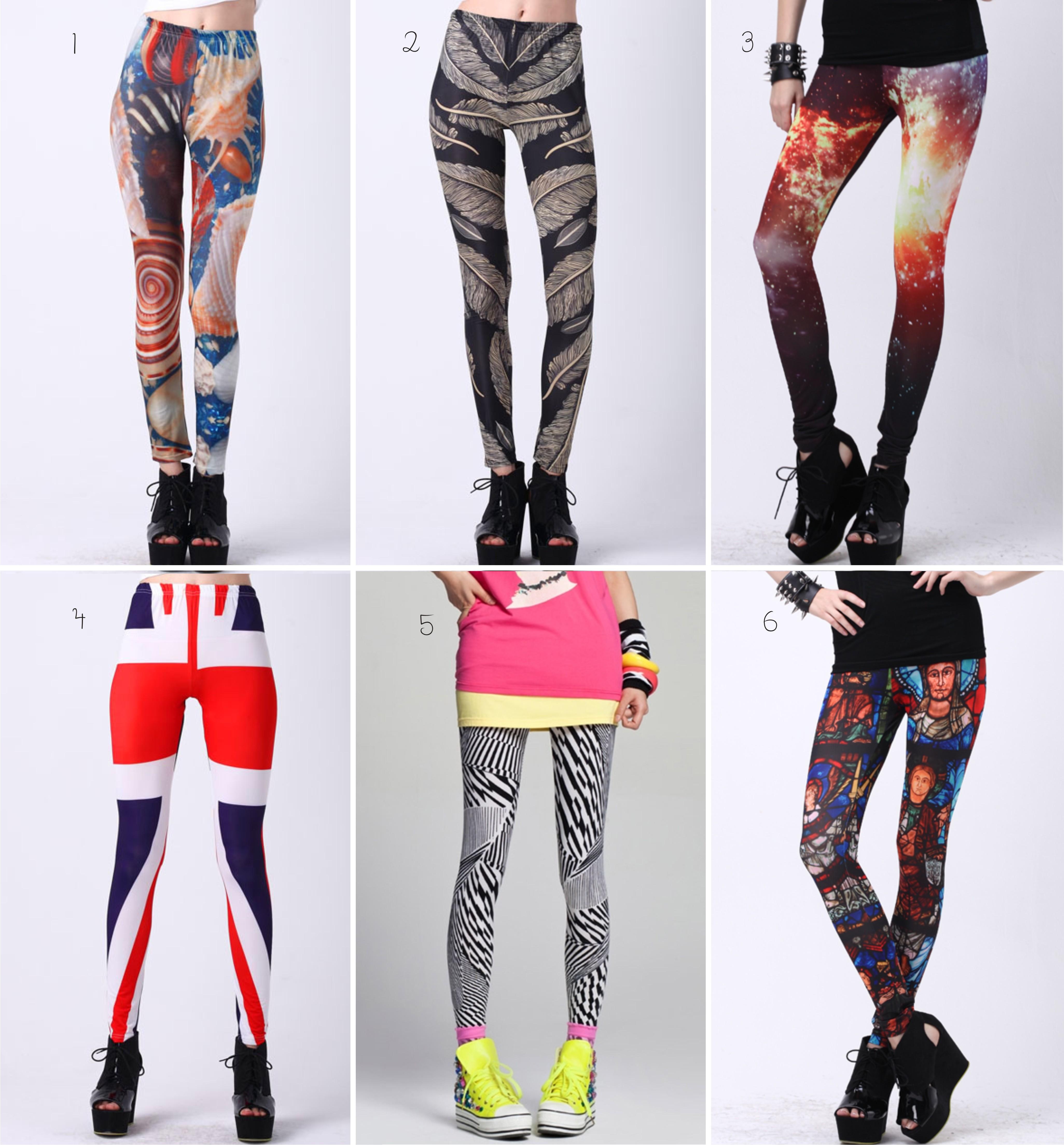 As leggings estampadas estão cada vez mais na wishlist de muitas ...