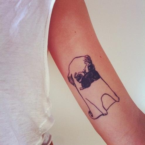 dog tattoo 1