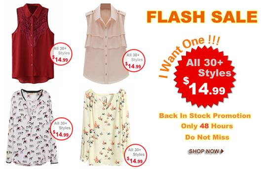 flash sale romwe agosto