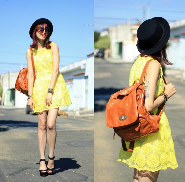 look yellow dress 2